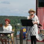 Nationaldagsfirande, juni 2014, Kils Hembygdsgård