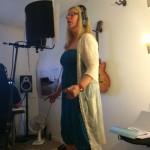 """Lisa i studion, juni 2014 """"Stjärnorna vet"""""""