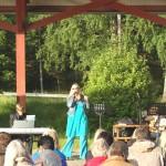 Musik i Fryksta, Lisa och Erik Nyberg, juli 2012